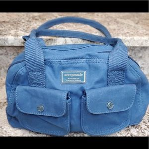 Cute Aeropostale's cloth blue purse